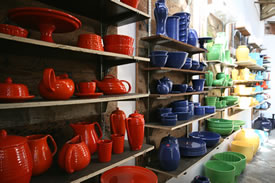 Bauer Pottery Showroom